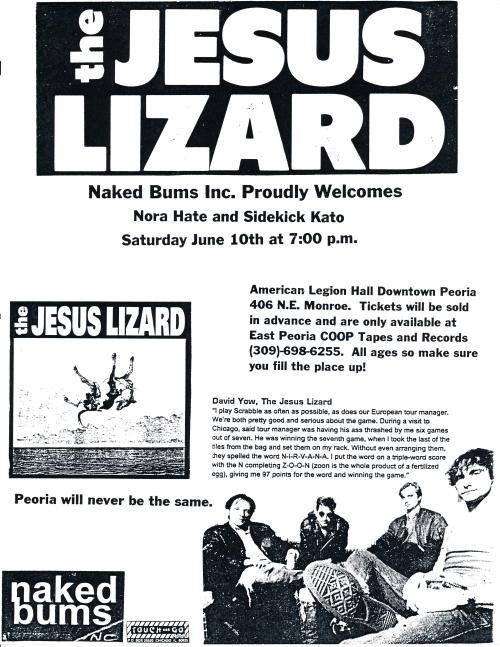 Jesus Lizard in Peoria